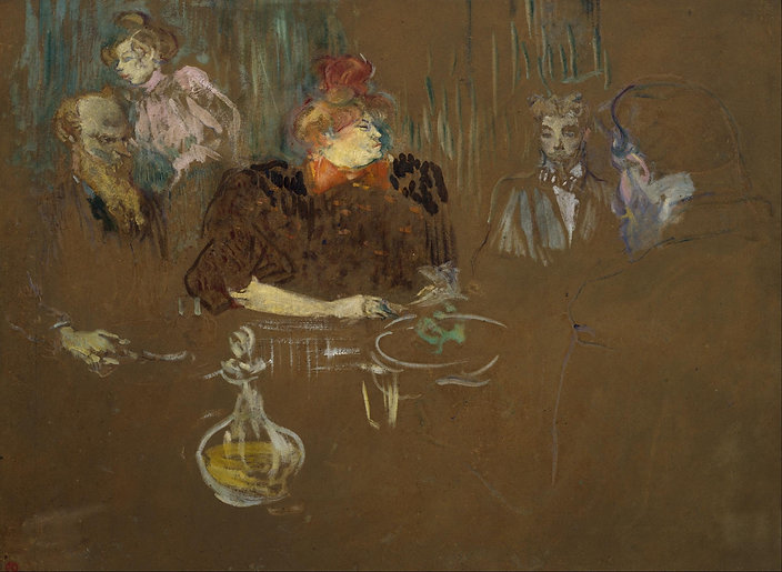 Henri_de_Toulouse-Lautrec_-_At_the_Table