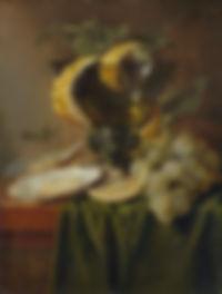 Nature morte au verre et aux huîtres, Jan Davidsz de Heem, c. 1640 - Huile sur bois, 25,1 x 19,1 cm  - The Metropolitan Museum of Art, New York