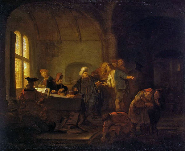 Parable of the Workers in the Vineyard, Salomon Koninck, 1647/49 - The Hermitage, St Petersburg, Russia | Parables | Blood of Christ, New Testament, Bible | From Divine to Sacred | Wine and Painting | The Virtual Wine Museumtuel du Vineyardg