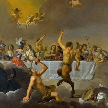 Festin des dieux ou Cène chrétienne ?
