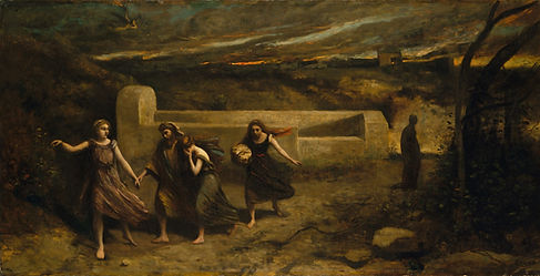 The Burning of Sodom, Corot