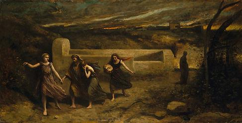 L'Incendie de Sodome, Corot