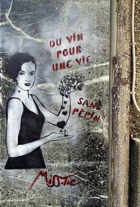 Street artiste : Miss. Tic. - Paris 13 | Bacchus et le Vin | Graffiti | Street Art | Exposition virtuelle | Le Musée Virtuel du Vin