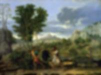 La Grappe de Canaan, Nicolas Poussin