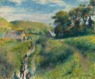 The Mussel Harvest (ex The Vintajers), Auguste Renoir, 1879 - National Gallery of Art, Washington