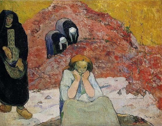 VENDANGES A ARLES (MISÈRESHUMAINES), Paul Gauguin (1848-1903), 1888 - Ordrupgaard, Copenhague