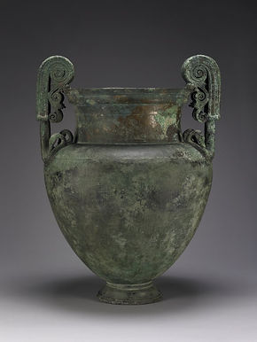 Cratère à volutes - British Museum