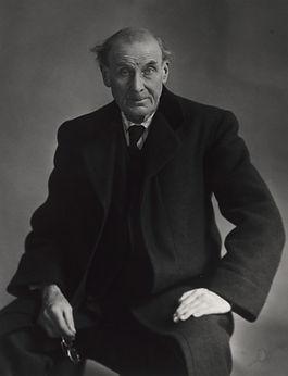 Portrait d'Eugène Atget par Berenice Abbott,1927 - MoMA, New York | Le Musée Virtuel du Vin - The Virtual Wine Museum