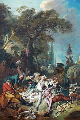 Repas de chasse, François Boucher, 1730s - Musée du Louvre, Paris