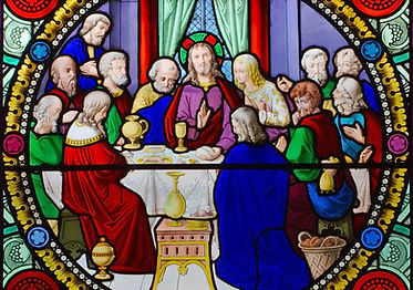 THE INSTITUTION OF EUCHARIST, 16th cent.- Saint-Sulpice Church, Breteuil-sur-Iton, Eure, France