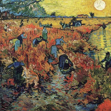 Van Gogh voit rouge : soyons précis