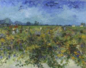 Musée Virtuel du Vin : Vins Arts et Peinture - Van Gogh : La Vigne verte