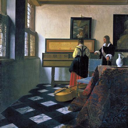 Musique et vin chez Vermeer