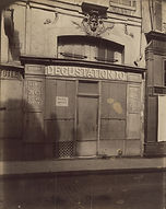 Eugène Atget, 38 rue des Saints-Pères, 7e arr., 1911 -  Musée Carnavalet, Paris | Le Musée Virtuel du Vin - The Virtual Wine Museum