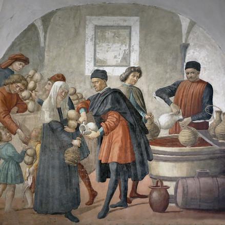 """Du pain et du vin pour les """"pôvres"""""""