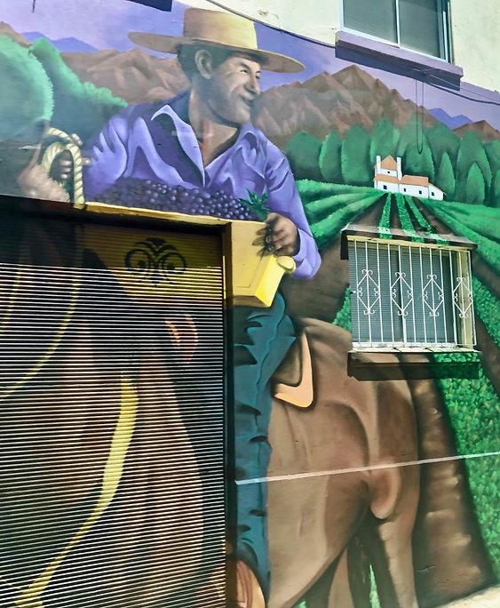 Promotion des vins du Chili - Valparaiso | Bacchus et le Vin | Graffiti | Street Art | Exposition virtuelle | Le Musée Virtuel du Vin