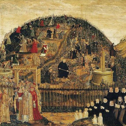 Luther dans les vignes du Seigneur