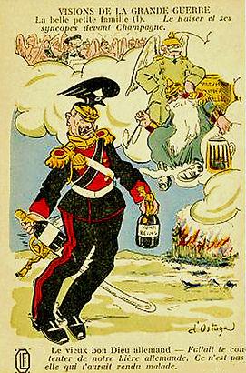 Le Kaiser craint le champagne