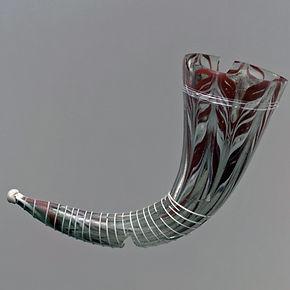 Corne à boire en verre - The Metropolitan Museum of Art, New York