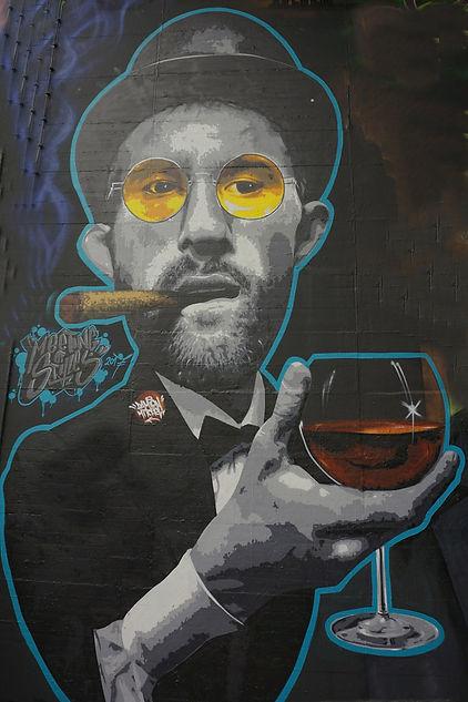 Wiesbaden | Bacchus et le Vin | Graffiti | Street Art | Exposition virtuelle | Le Musée Virtuel du Vin