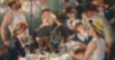 Musée Virtuel du Vin : Vin et Art, peinture - Renoir : Le Déjeuner des canotiers