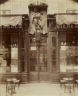 Eugène Atget, Au Jean Bart, bar-tabac, 38 avenue la Motte-Piquet, 7e arr., 1911 - MoMA, New York | Le Musée Virtuel du Vin - The Virtual Wine Museum