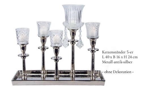 Kerzenständer 5-er