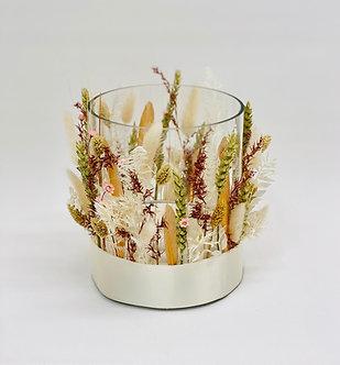 Trockenblumen inkl. Vase