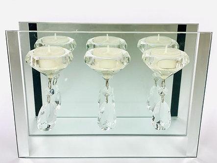 Spiegel Glas Teelichter
