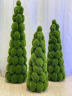 Deko Baum aus künstlichem Moos