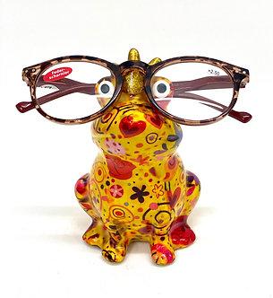 Frosch Brillenhalter (ohne Brille)