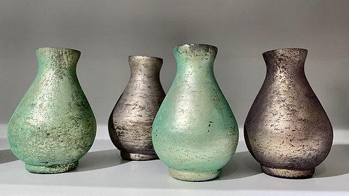 Vase Grün oder Grau