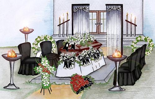 Trauerfeier Gestaltung & Dekoration