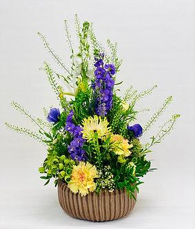 Blumen Arrangement inklusive Schale