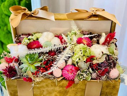 Blumen Geschenkbox