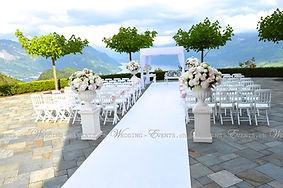Hochzeitsdekoration wedding & events gmb