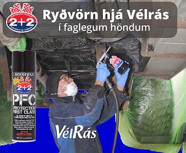 ryðvörn hjá Vélrás
