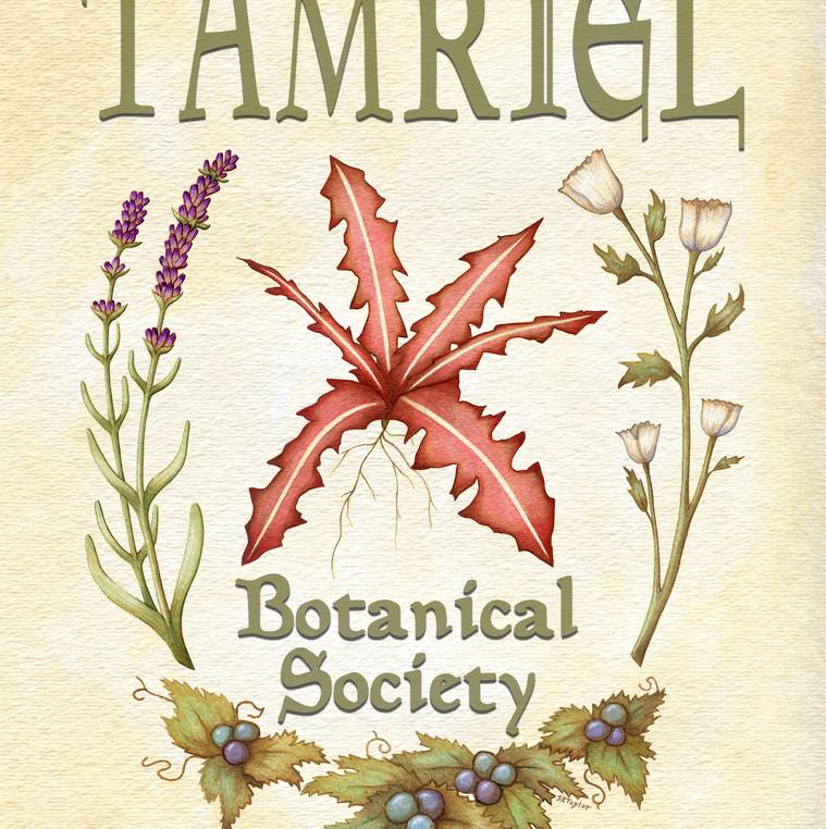Skyrim- Tamriel Botanical Society