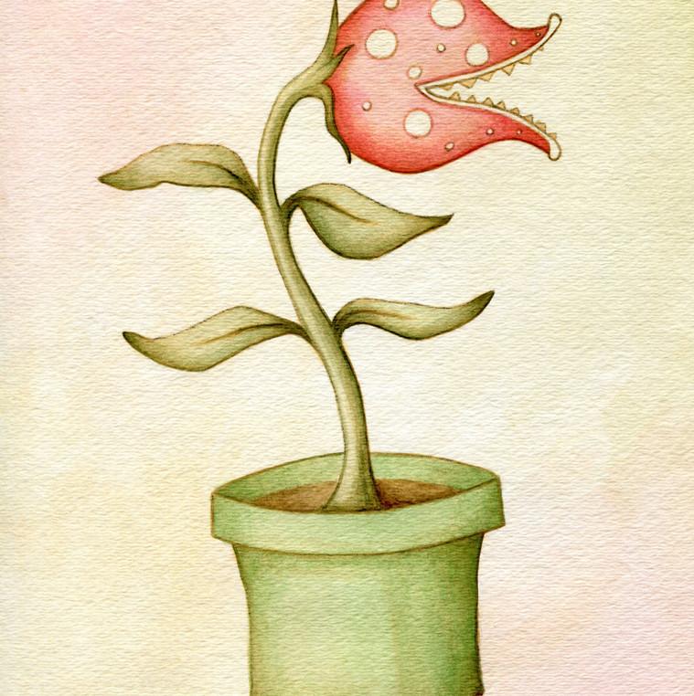 Mario Piranha Plant
