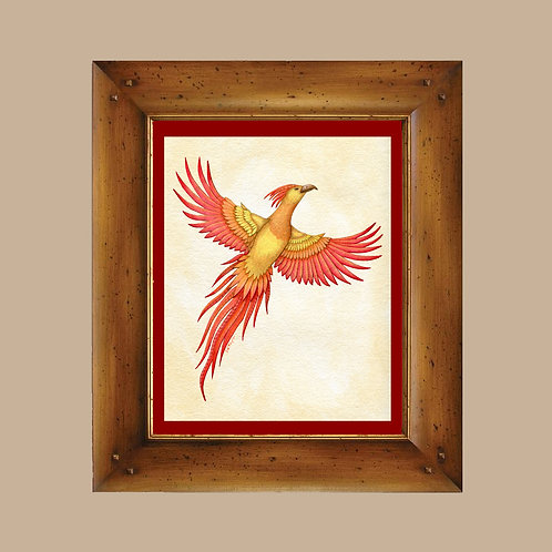 Phoenix Art Print - Arizona Firebird