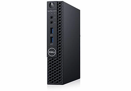 Desktop Dell Optiplex 3070 Mff Ci3-9100t 4gb 500gb W10p 3wty