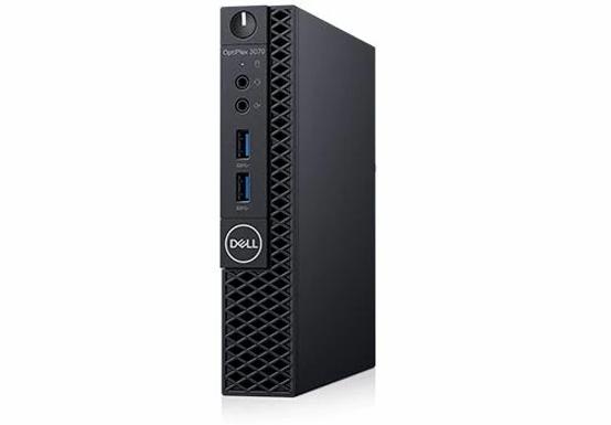 Desktop Dell Optiplex 3070 Mff Ci3-9100t 4gb 500gb W10p 3wty