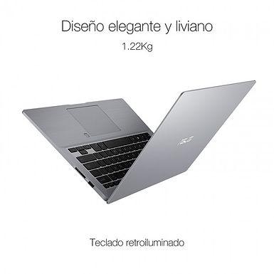 "Laptop Asus ExpertBook P2540FA Core I7 8565u 16gb 512ssd 14"" W10p Slab Grey"