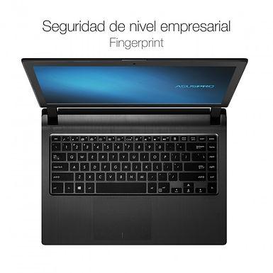 """Laptop Asus ExpertBook P1440FA Core I3 10110u 8gb 256ssd 14"""" W10p Black"""