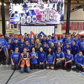The Force Team Takes Home Silver at the FIRST® Robotics North Shore District