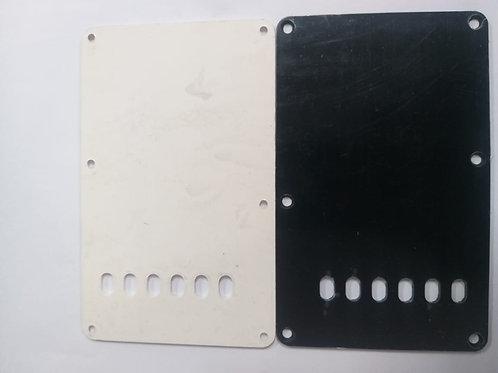 Placa Plastica p/ Guit. Electrica B & N