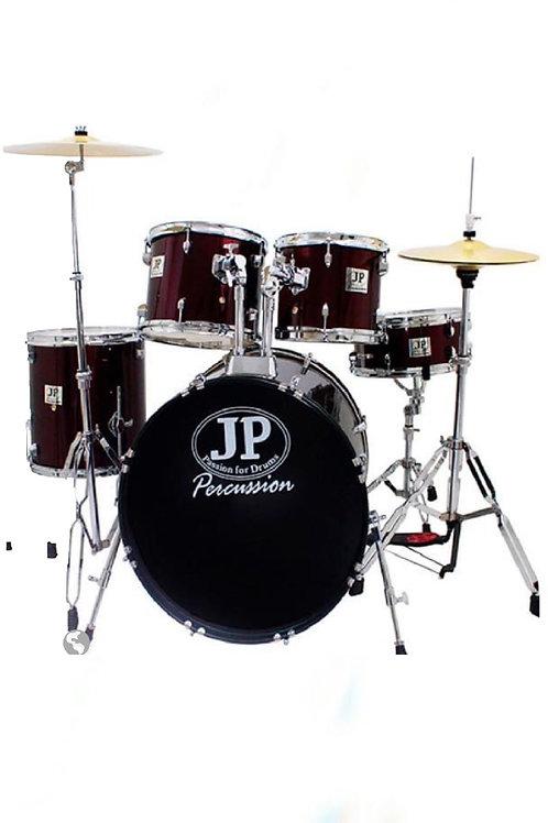 Batería Acústica JP 5 tambores y Cymbal