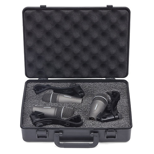 Microfono SAMSON kit de 3 para bateria