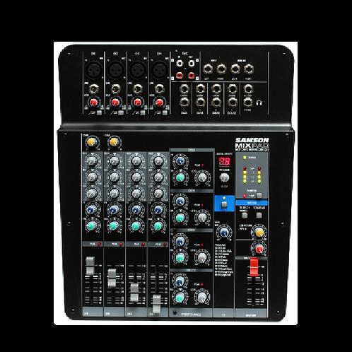 Mixer SAMSON 12 Ch Análogo/ Estéreo c/Efectos y USB