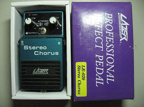 Pedal p/ Guit Elect LAZER Stereo Chorus
